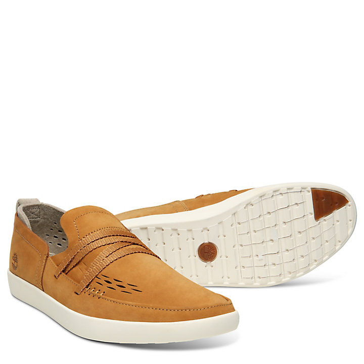 Project Better Slip-On Shoe for Men in Tan-