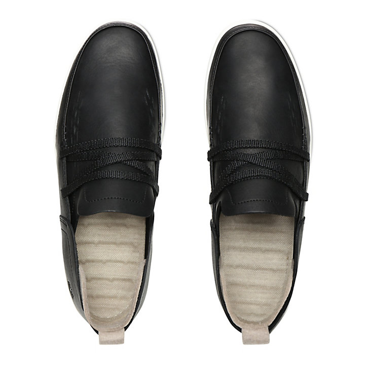 Project Better Slip-On Shoe for Men in Black-