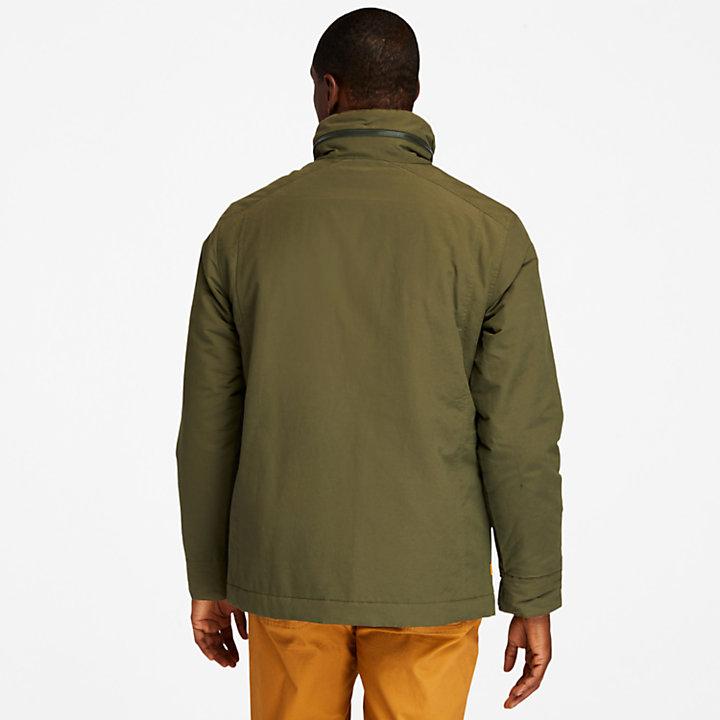 Mt. Kelsey Field Jacket for Men in Dark Green-