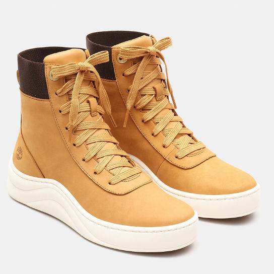 Ruby Ann High Tops for Women in Yellow | Timberland