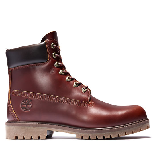 Timberland® Heritage 6 Inch Boot for Men in Burgundy | Timberland