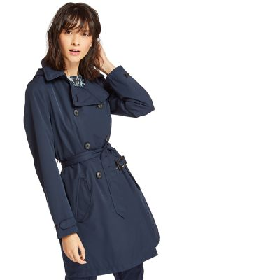 Classic+Trench+Coat+for+Women+in+Navy