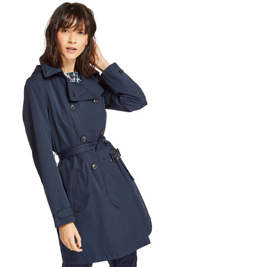 Classic Trench Coat for Women in Navy | Timberland