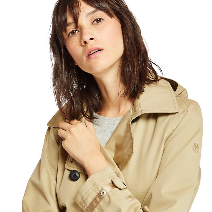 Classic Trench Coat for Women in Beige-