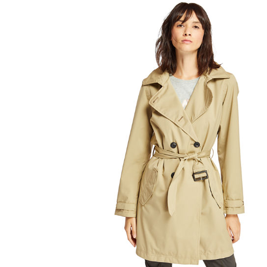 Classic Trench Coat for Women in Beige | Timberland