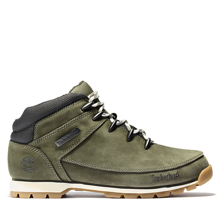 Euro Sprint Mid Hiker for Men in Green-