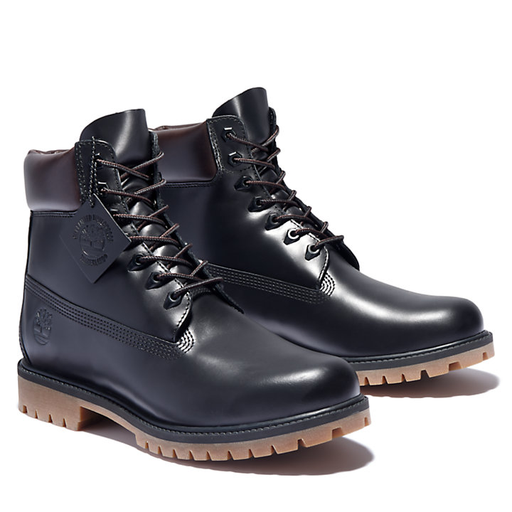 Timberland® Heritage 6 Inch Boot for Men in Black-