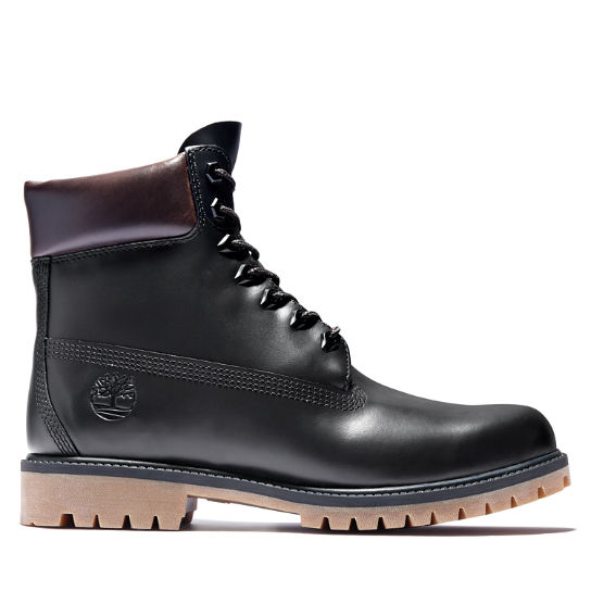 Timberland® Heritage 6 Inch Boot for Men in Black | Timberland
