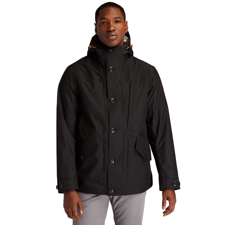 Timberland Ecoriginal 3-in-1 Ek+ Jacket For Men In Black Black, Size XXL