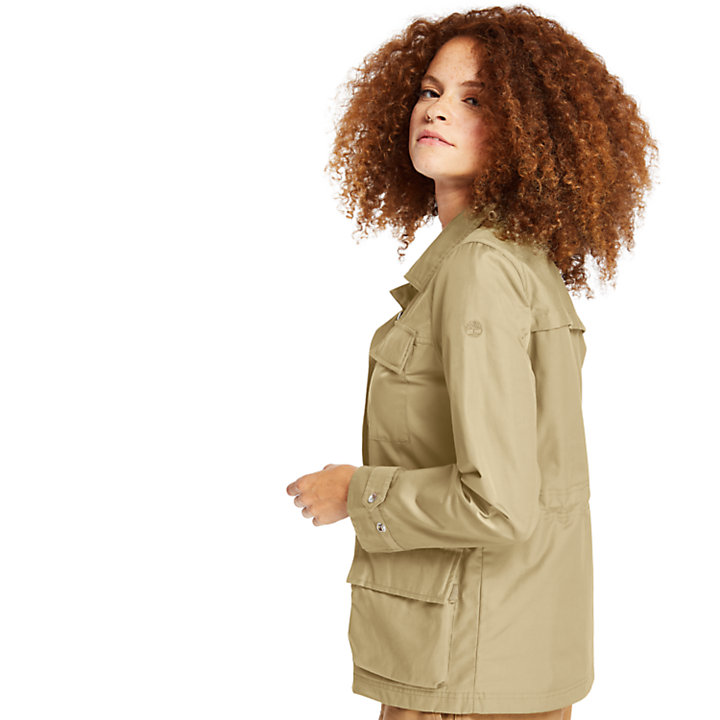 M65 Field Jacket for Women in Beige-