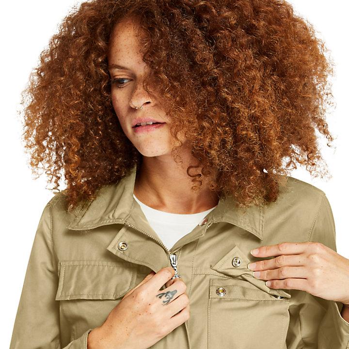 M65 Field Jacket for Women in Beige-