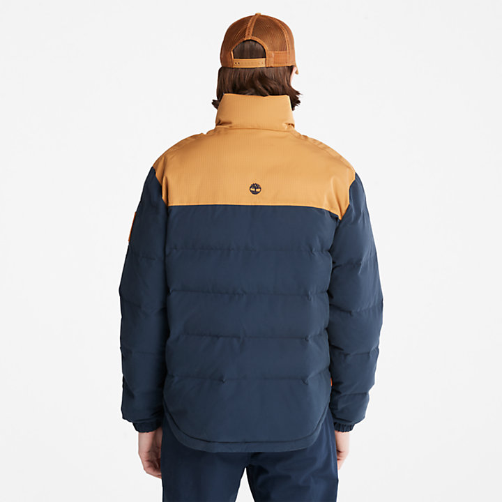 Welch Mountain Puffer Jacket for Men in Navy-