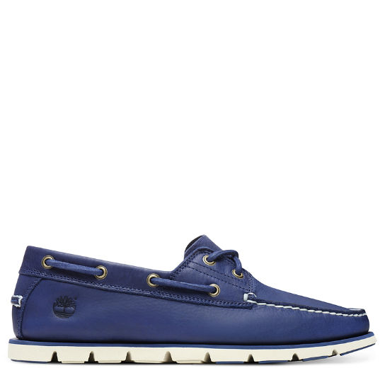 Tidelands Boat Shoes for Men in Blue | Timberland