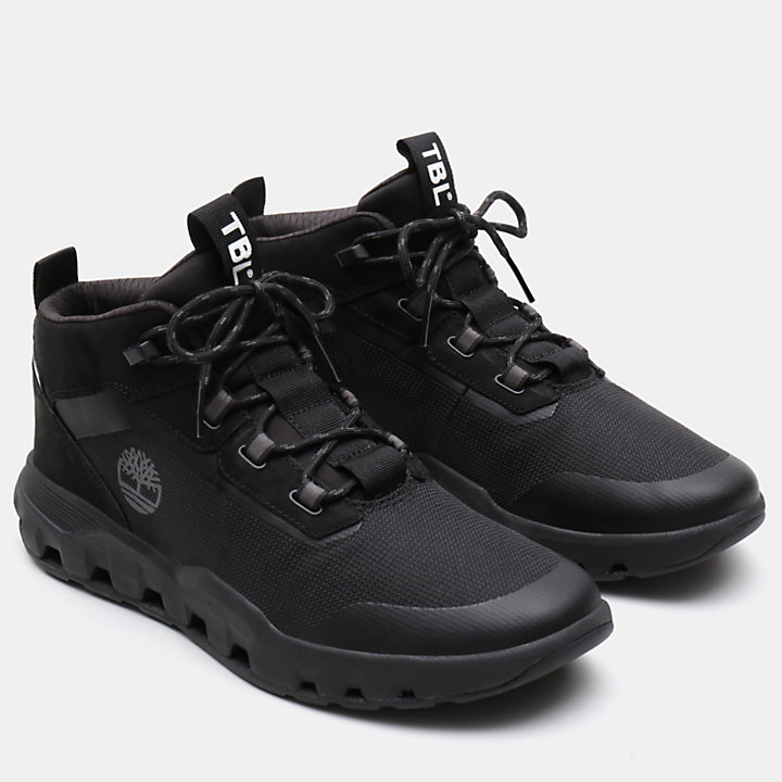 Urban Exit High Top Sneaker for Men in Black-