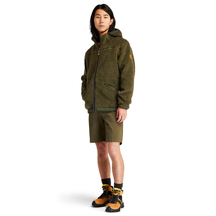 Ecoriginal Reversible Fleece for Men in Dark Green-