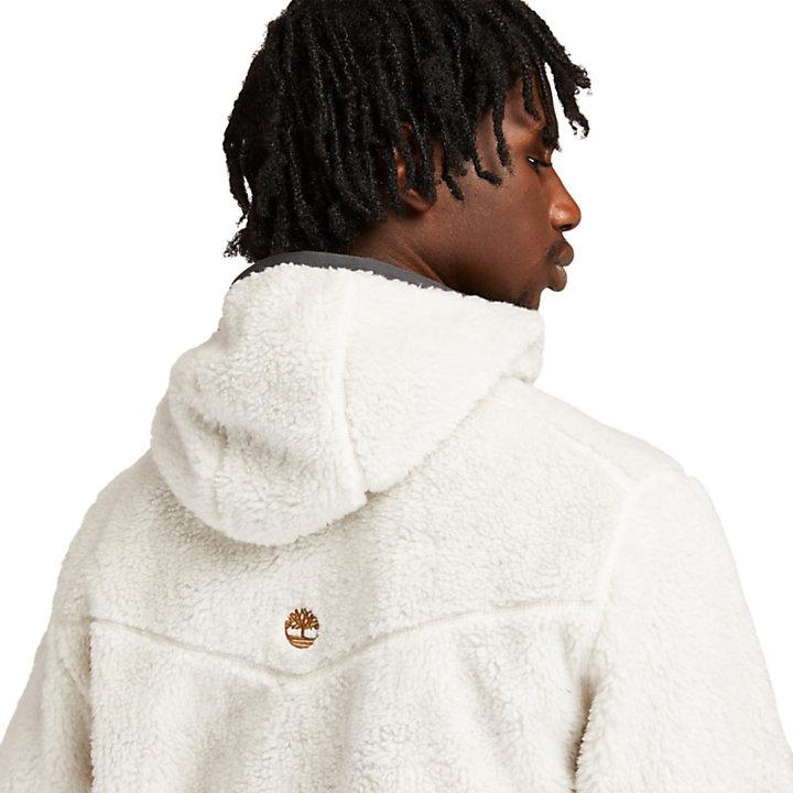 Ecoriginal Reversible Fleece for Men in White/Brown-