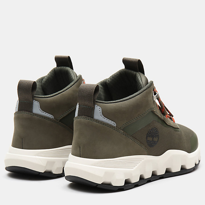 Urban Exit High Top Sneaker for Men in Green-