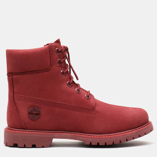 6 Inch Premium Boot for Women in Red | Timberland