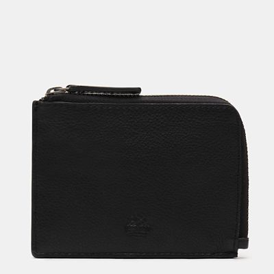 Kennebunk+Zipped+Wallet+for+Men+in+Black