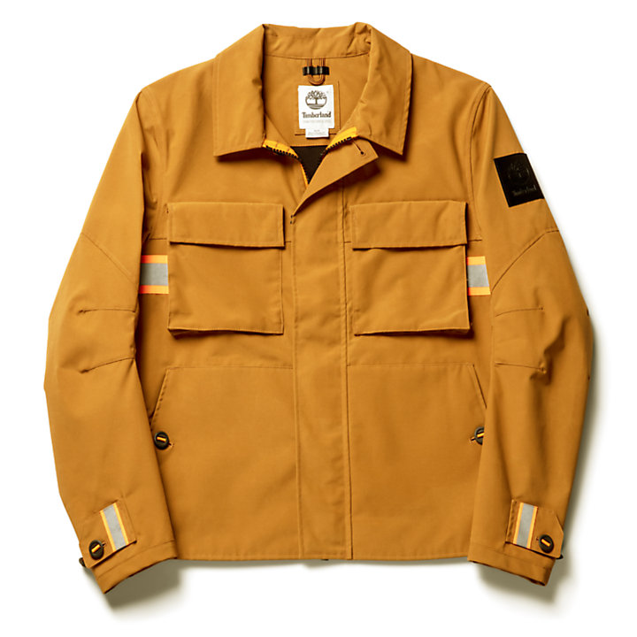 Mount Tecumseh Worker Jacket for Men in Yellow-