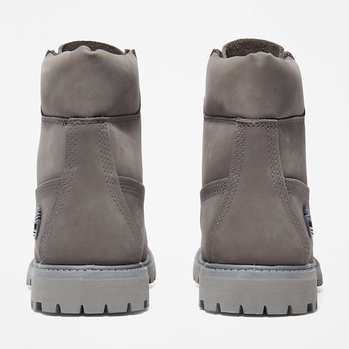 6 Inch Premium Boot for Women in Grey-