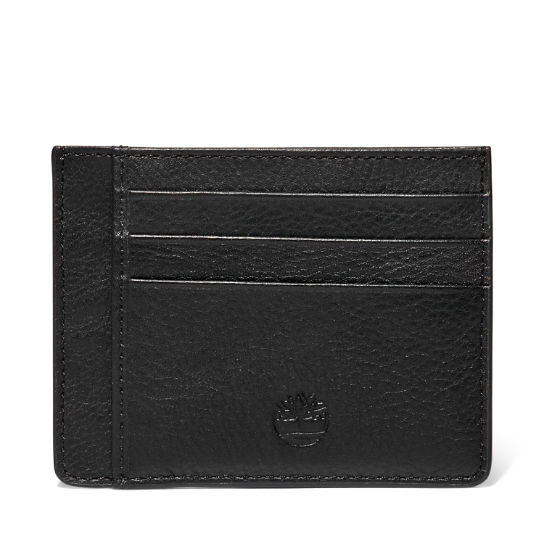 Kennebunk Credit Card Holder for Men in Black | Timberland