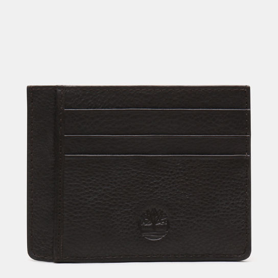 Kennebunk Card Holder for Men in Dark Brown | Timberland