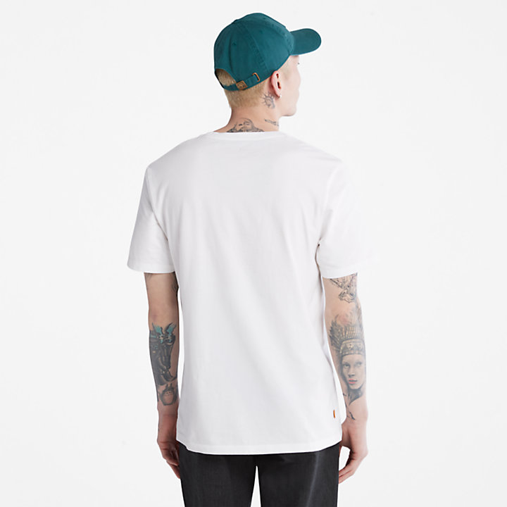 Outdoor Heritage Camo Tree T-Shirt für Herren in Weiß-