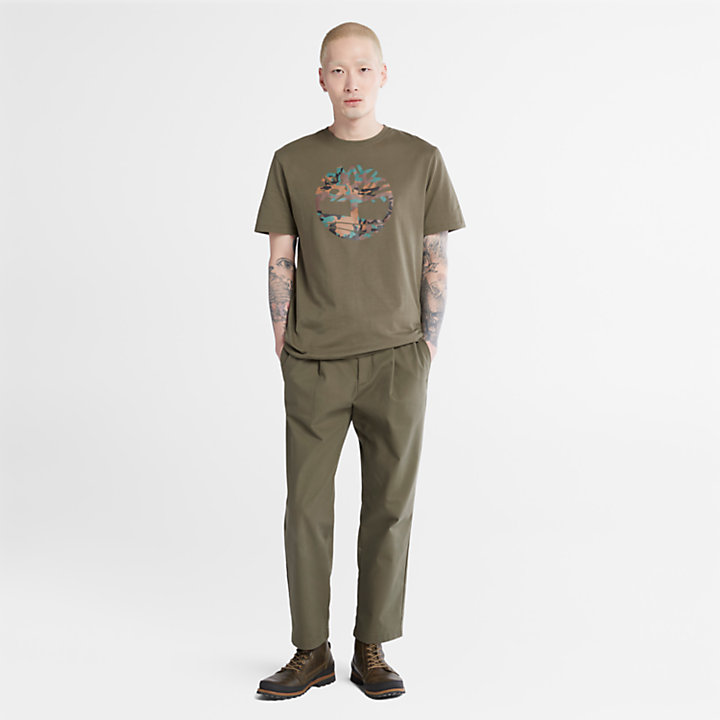 Outdoor Heritage Camo Tree T-Shirt für Herren in Grün-