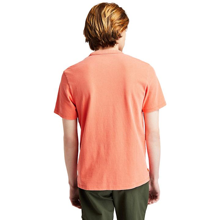 T-shirt The Original teint en pièce pour homme en jaune-