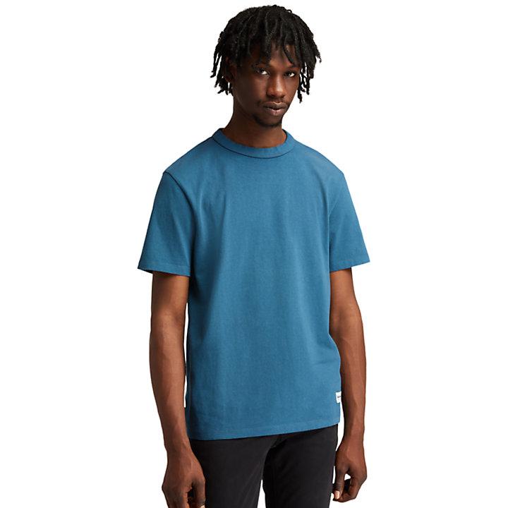 T-shirt The Original teint en pièce pour homme en bleu-