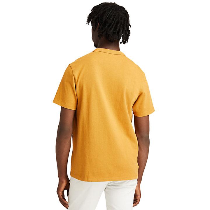 Camiseta The Original para hombre en naranja-