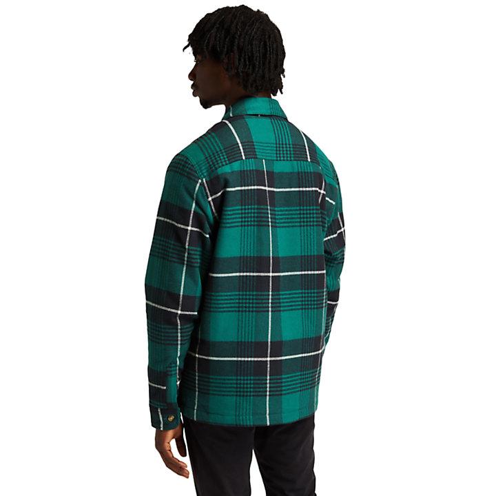 Isolierte Buffalo Hemdjacke für Herren in Grün-