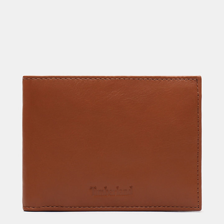 Brackenbury Large Wallet for Men in Brown-