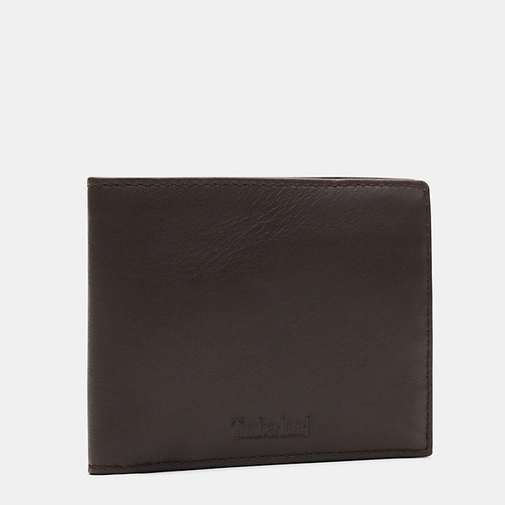 Portafoglio Grande da Uomo Brackenbury in marrone scuro-