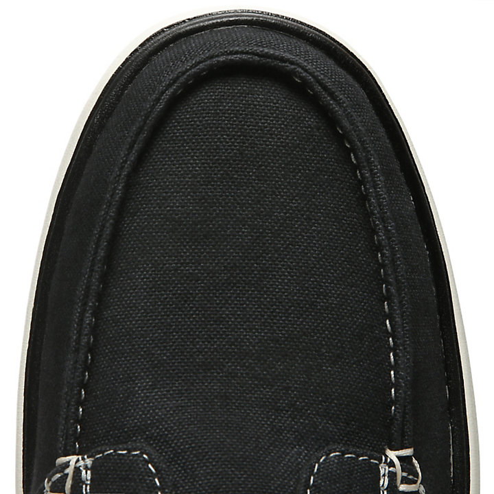 Gateway Pier Boat Shoe for Men in Black-