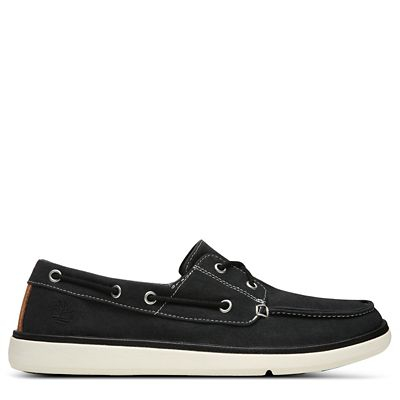 Gateway+Pier+Boat+Shoe+for+Men+in+Black