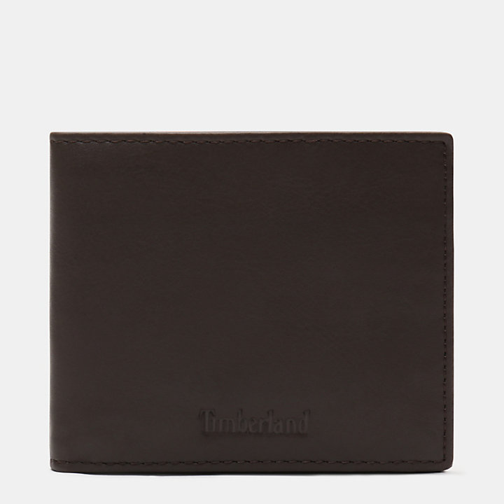 Brackenbury Wallet for Men in Dark Brown-