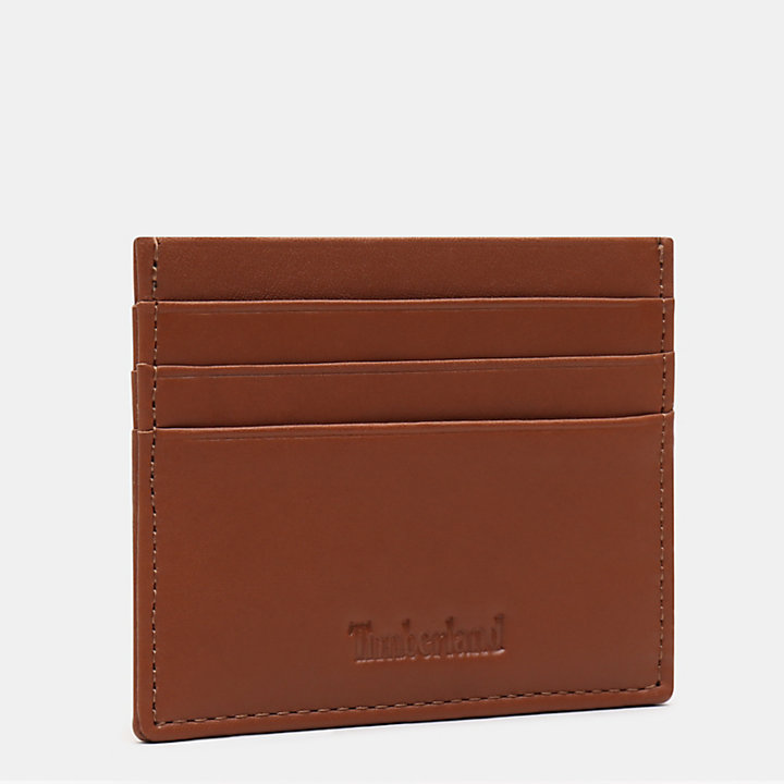 Brackenbury Credit Card Holder for Men in Brown-