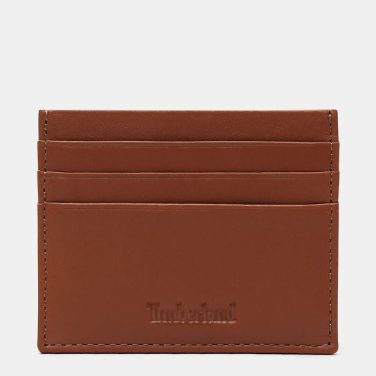Brackenbury Credit Card Holder for Men in Brown | Timberland