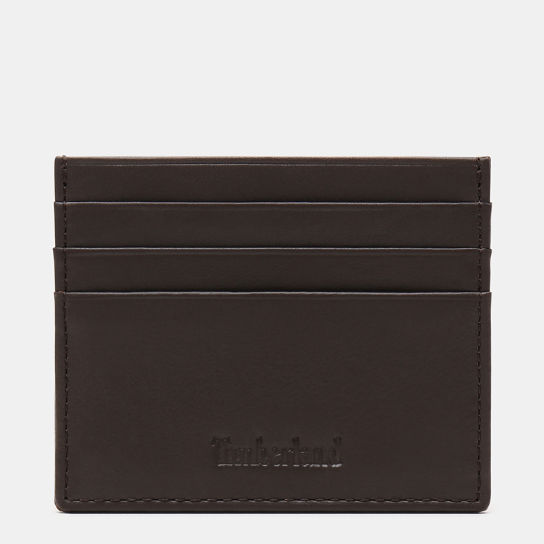 Brackenbury Credit Card Holder for Men in Dark Brown | Timberland