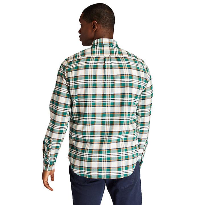 SolucellAir™ Tartan Shirt for Men in Green-