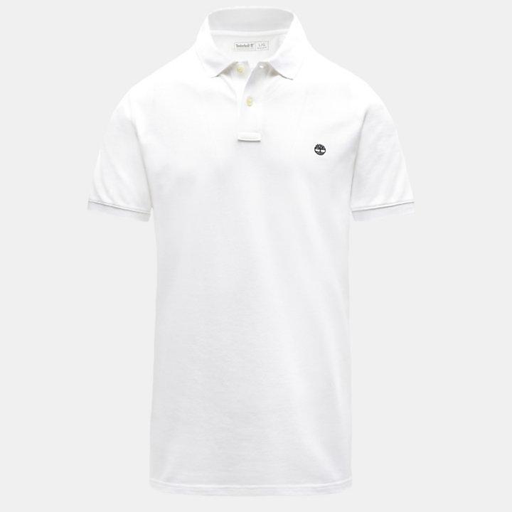 Millers River Poloshirt voor Heren in wit-