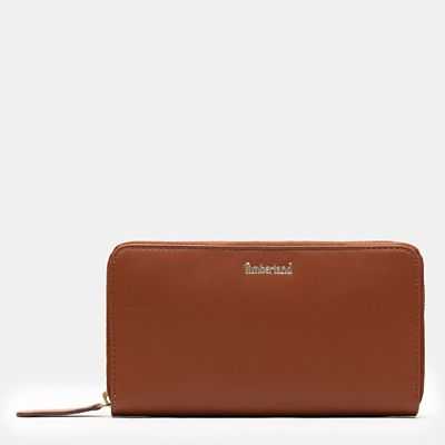 Rosecliff+Wallet+for+Women+in+Light+Brown