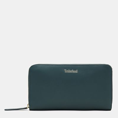 Rosecliff+Wallet+for+Women+in+Green
