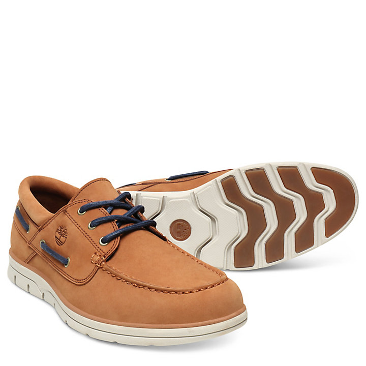 Bradstreet Boat Shoe for Men in Light Brown-