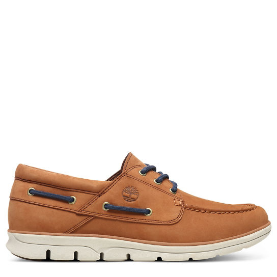 Bradstreet Boat Shoe for Men in Light Brown | Timberland