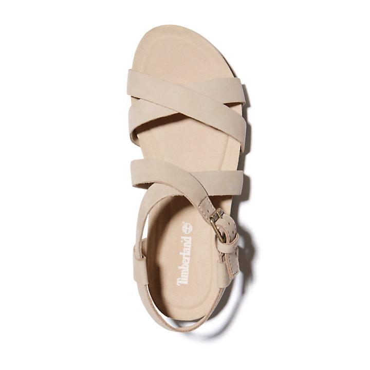 Sandale Malibu Waves pour femme en beige-