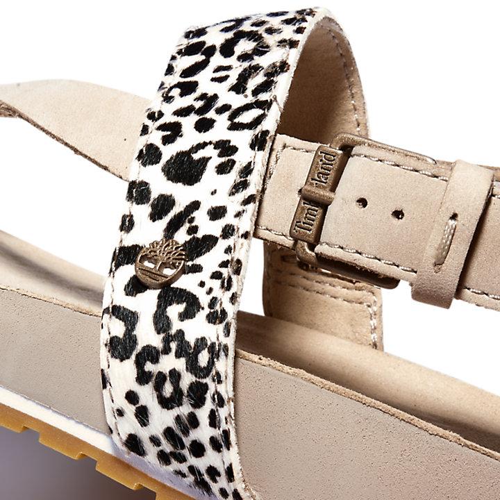 Malibu Waves Sandal for Women in Leopard Print-