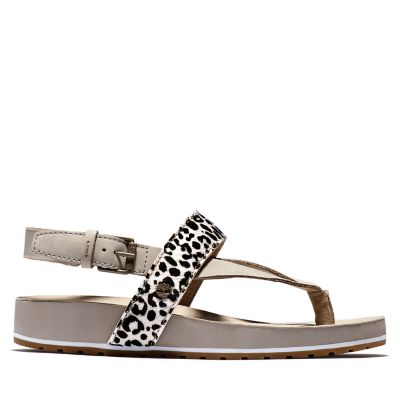 Malibu+Waves+Sandal+for+Women+in+Leopard+Print